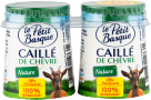 3280246300103 - caillé chèvre nature 2x125g