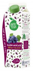 PLEIN FRUIT - RAISIN MUSCATE - 1L (002)