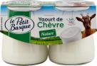 LE PETIT BASQUE- Yt chèvre nature 2x125g (002)