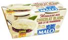 MALO - MOUSSE CHOCOLAT BLANC SUR LIT DE FRAMBOISE (002)