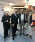 Mr Schuver, Directeur Commercial - Mr Kratz, Directeur Général du groupe EUROMAC2 - Messieurs Seguin et Sercan, actionnaires