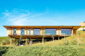 TECHNAL – MAISON BOIS – Beltza Architecture – Crédit photo TECHNAL – Photographe Vincent LANTIGNAC (12)