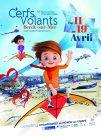 Affiche 34emes Rencontres Internationales de Cerfs Volants Berck-sur-Mer 2020