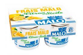Fromage frais au citron de Sicile 4x100g MALO