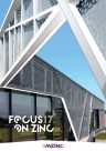 Couverture Focus On Zinc 17 - VMZINC