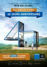 TECHNAL Affiche Operation 40 jours anniversaire Reseau Aluminiers Agrees Technal