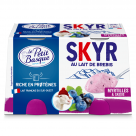 LE PETIT BASQUE - skyr lait de brebis - myrtille caassis 2x120gLE PETIT BASQUE - skyr lait de brebis -